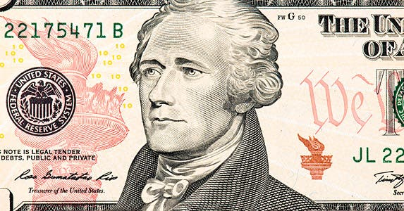 The $10 bill through the years © iStock