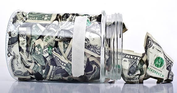 Put aside a small amount every week © iStock