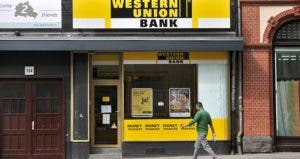 Exterior of a Western Union store | ullstein bild/Getty Images