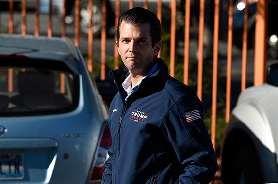 Donald Trump Jr., 38 | David Becker/Getty Images