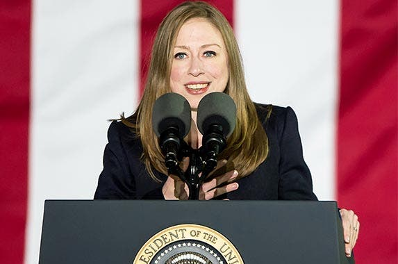 Chelsea Clinton, 36 | Gilbert Carrasquillo/Getty Images