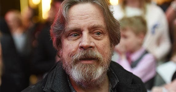 Mark Hamill (as Luke Skywalker)   Vittorio Zunino Celotto/Getty Images