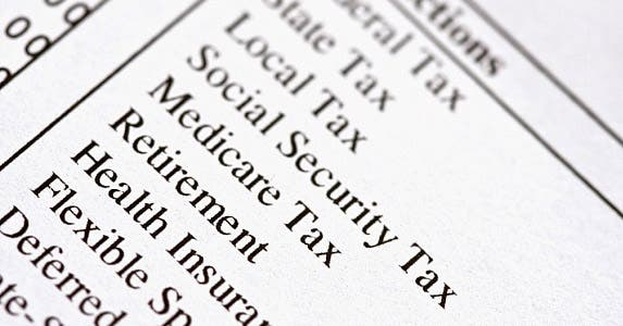 Where do payroll deductions for Social Security go? © Stephanie Frey / Fotolia