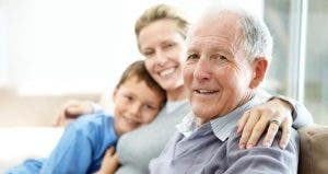 Senior father with daughter and grandson  © Yuri Arcurs / Fotolia