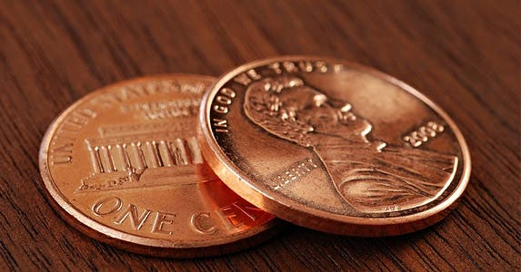 Myth No. 2: A penny saved is a penny earned © Marie C Fields/Shutterstock.com