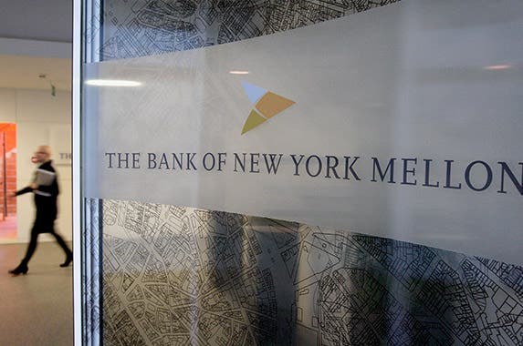 Bank of New York Mellon Corp. © SEBASTIEN PIRLET/Reuters/Corbis