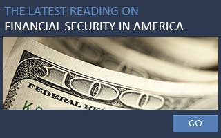 The latest reading on financial security in America