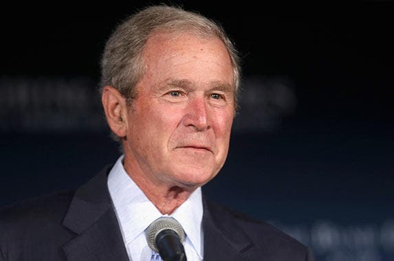 George W. Bush | Chip Somodevilla/Getty Images