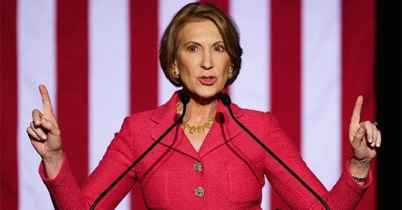 Carly Fiorina | Bob Levey/Getty Images