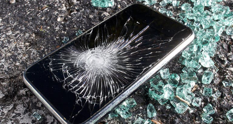 cracked iphone screen barclays insurance