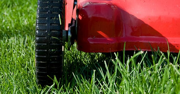 52 weeks of saving: Mow your own lawn and save