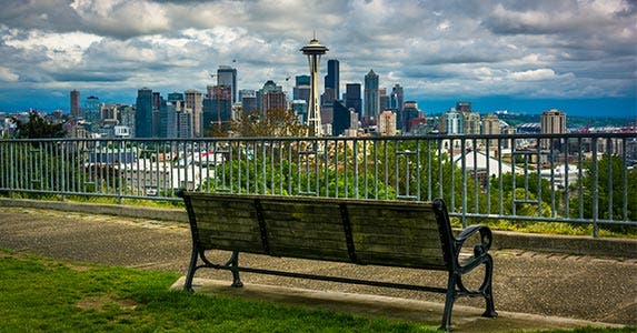 No. 7: Seattle © Jon Bilous/Shutterstock.com