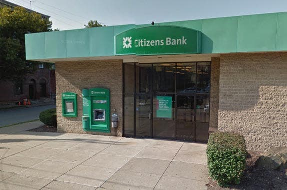 Citizens Bank © 2016 Google