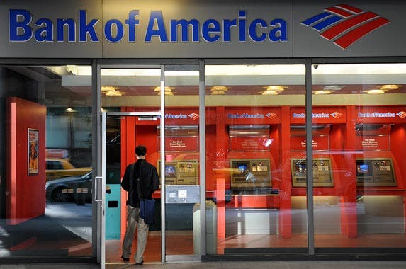 Bank of America | STAN HONDA/AFP/Getty Images
