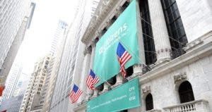 Banner of Citizens Bank hanging outside the New York Stock Exchange building | Craig Barritt/GettyImages