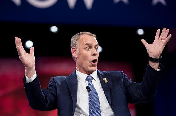 Ryan Zinke | Bill Clark/Getty Images