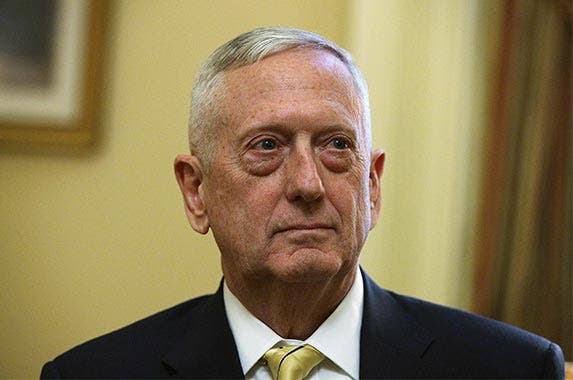 James Mattis | Alex Wong/Getty Images