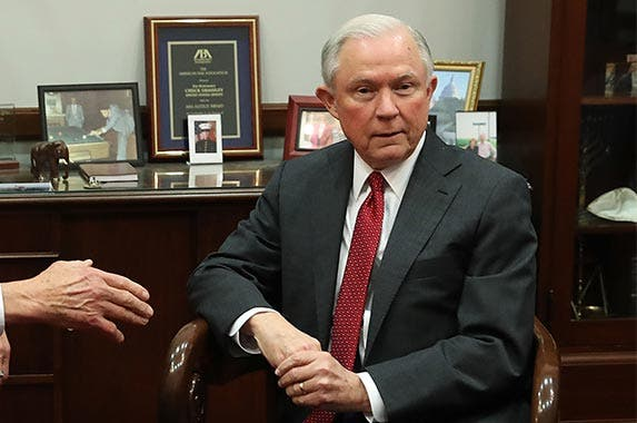 Jeff Sessions | Mark Wilson/Getty Images