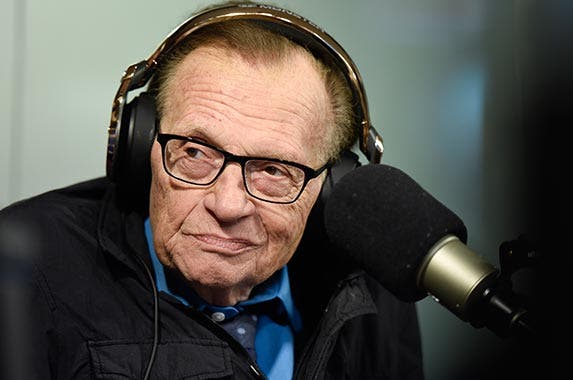 Larry King | Imeh Akpanudosen/Getty Images