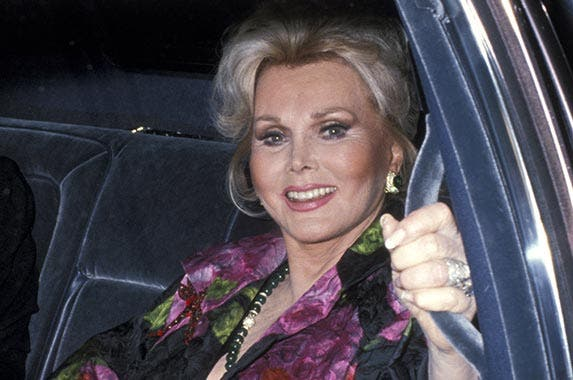 Zsa Zsa Gabor | Ron Galella, Ltd./Getty Images