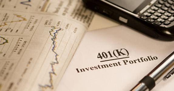 401(k) investment portfolio © iStock