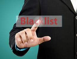 You became blacklisted by major banks © Deva Studio/Shutterstock.com