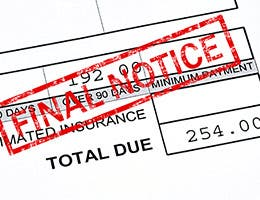 You can avoid debt collectors, sometimes © Stephen VanHorn/Shutterstock.com