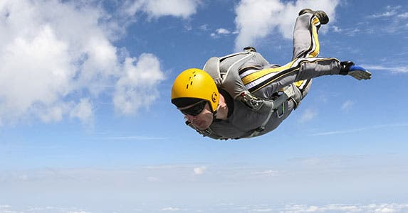 Take more risk © germanskydive110 - Fotolia.com