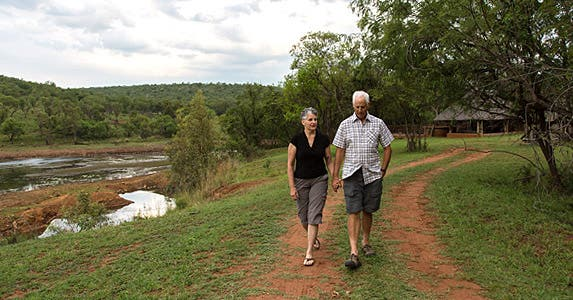 Senior travel deals for retirees on a budget | Greg and Pat Mork, South Africa, Peace Corps