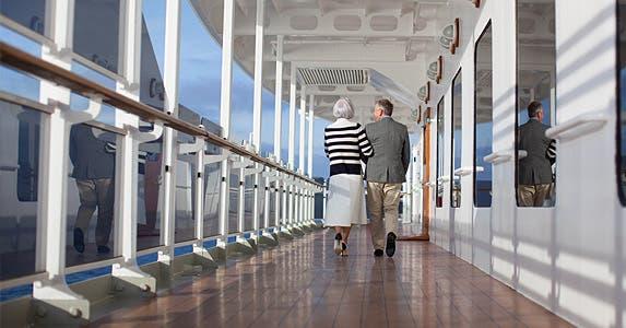 Senior travel deals: Take a cruise | Photo credit: Cunard Line