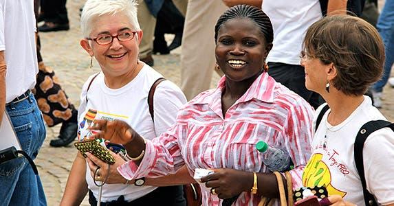 Senior travel deals: Translators | Photo courtesy of International Visitor Leadership Program