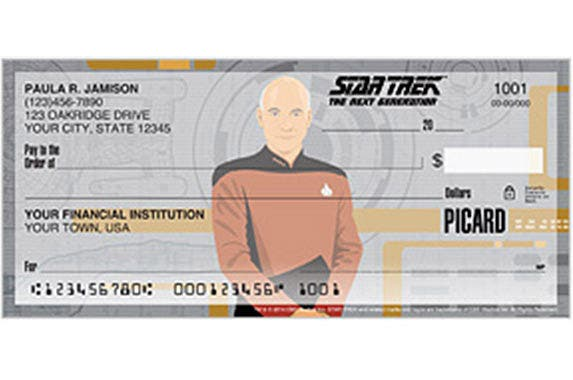 'Star Trek: The Next Generation' checks