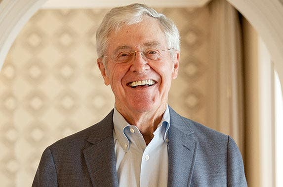 Inheritor: Charles Koch | The Washington Post/Getty Images