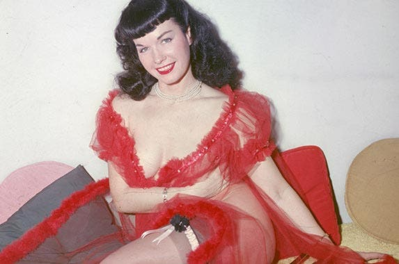 Bettie Page | Archive Photos/Getty Images
