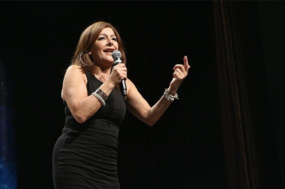 Marina Sirtis | Gabe Ginsberg/Getty Images