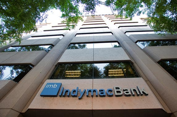 IndyMac Bank © Ted Soqui/Ted Soqui Photography USA/Corbis