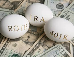 Retirement savings, benefits influence decision