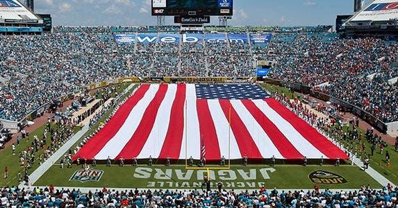 The 5 cheapest NFL stadiums © Gray Quetti/ZUMA Press/Corbis