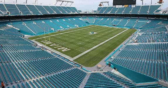 No. 5: Sun Life Stadium © David Santiago/ZUMA Press/Corbis