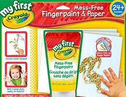 Finger-painting set