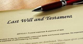 Last will and testament © zimmytws / Fotolia