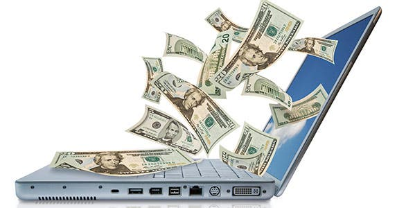 Take your savings online © iStock