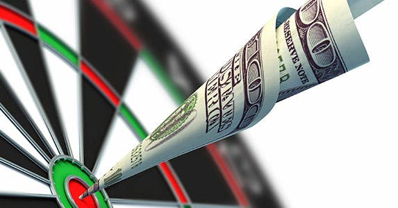 Don't abandon your investing target © iStock