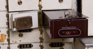 Safe deposit boxes © iStock