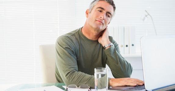 Man looking critically at his monitor © iStock