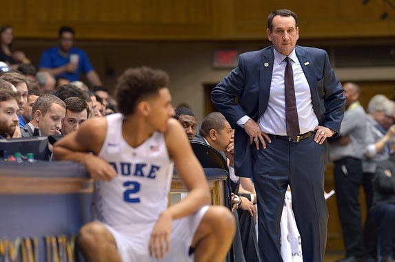 Mike Krzyzewski | Grant Halverson/Getty Images