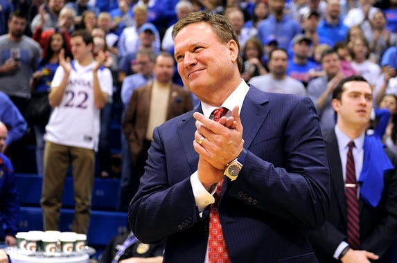 Bill Self | Ed Zurga/Getty Images