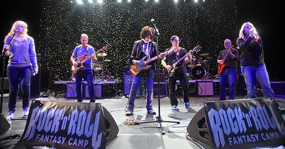 Rock-and-roll fantasy camp | Steve Sands/Getty Images
