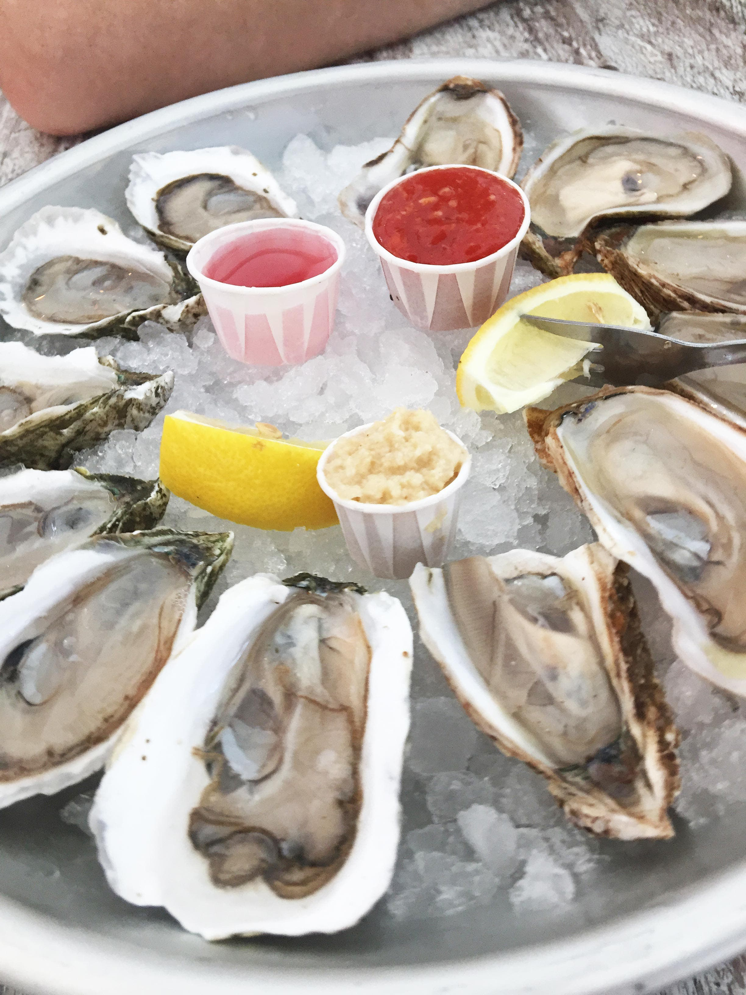 Living in Wellfleet, the world would be my oyster.