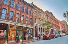 Maine shopping street